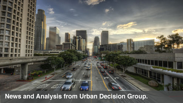 News and Analysis from Urban Decision Group.
