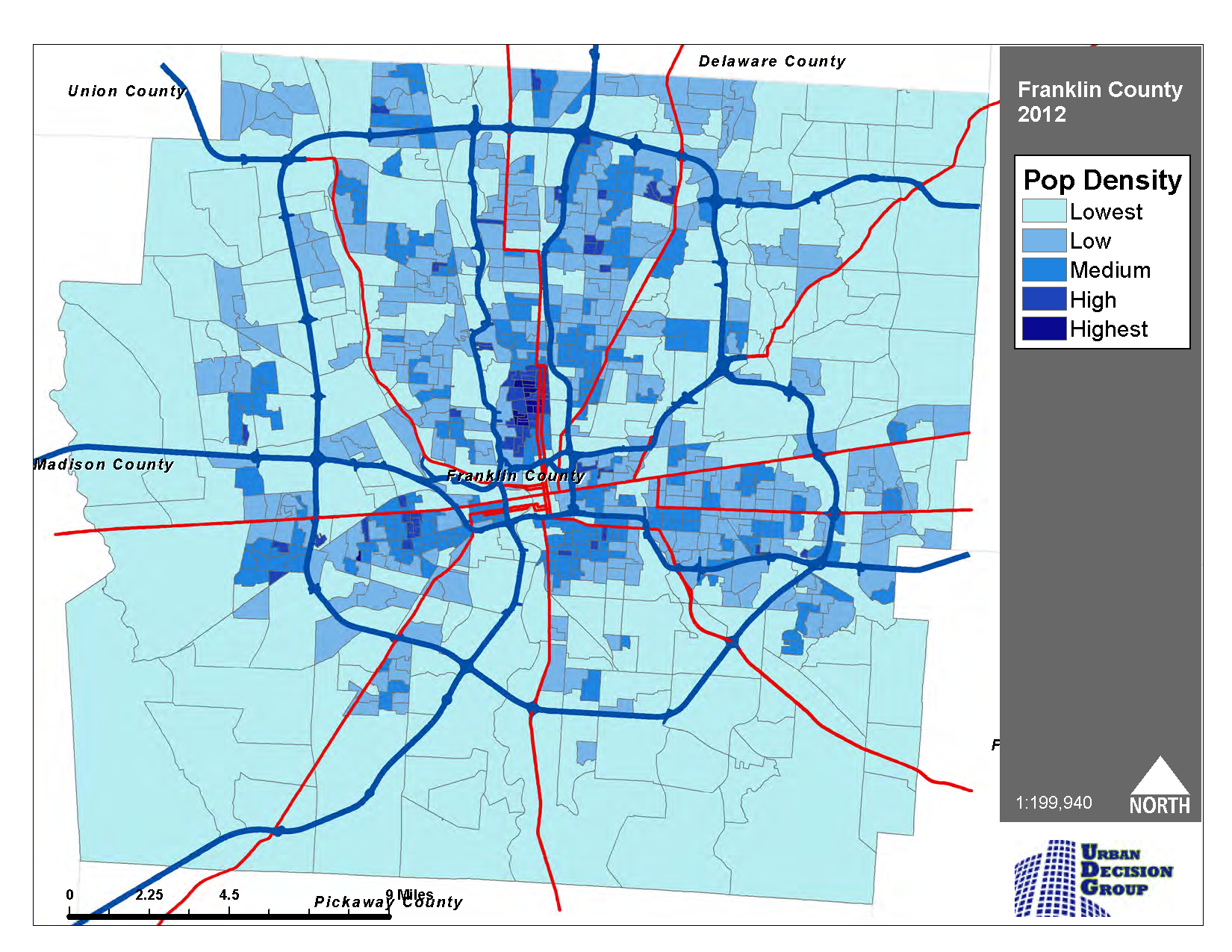 Where Are They Going Population Growth In Franklin County
